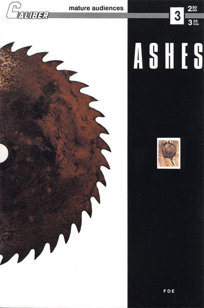 Cover for Ashes (Caliber Press, 1990 series) #3