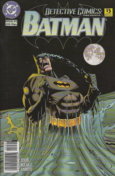 Cover for Batman: Detective Comics Presenta (Zinco, 1996 series) #1