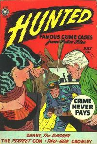 Cover Thumbnail for Hunted (Fox, 1950 series) #13 [1]
