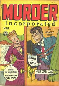 Cover for Murder Incorporated (1948 series) #2