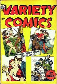 Cover Thumbnail for Variety Comics (Fox, 1950 series) #[nn]