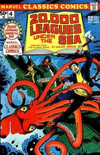 Cover Thumbnail for Marvel Classics Comics (Marvel, 1976 series) #4 - 20,000 Leagues Under The Sea