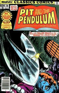 Cover Thumbnail for Marvel Classics Comics (Marvel, 1976 series) #28 - The Pit and the Pendulum