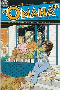 Cover Thumbnail for Omaha the Cat Dancer (Kitchen Sink Press, 1986 series) #8