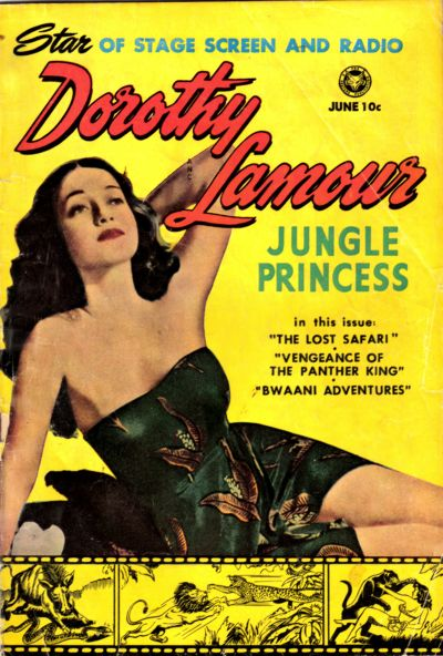 Cover for Dorothy Lamour (Fox, 1950 series) #2