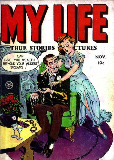 Cover for My Life True Stories In Pictures (1948 series) #5
