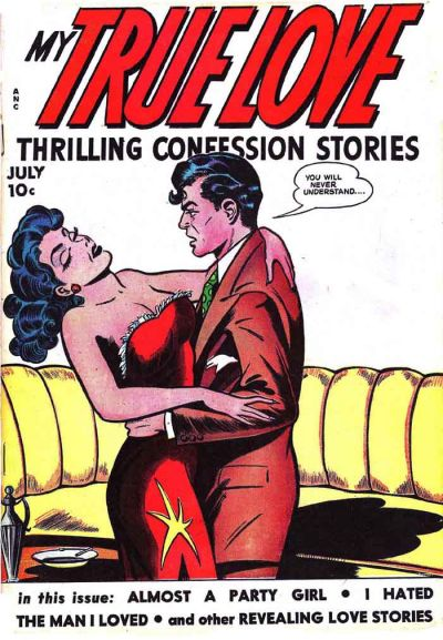 Cover for My True Love Thrilling Confession Stories (Fox, 1949 series) #65