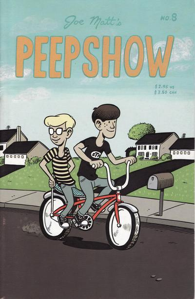 Cover for Peepshow (Drawn & Quarterly, 1992 series) #8