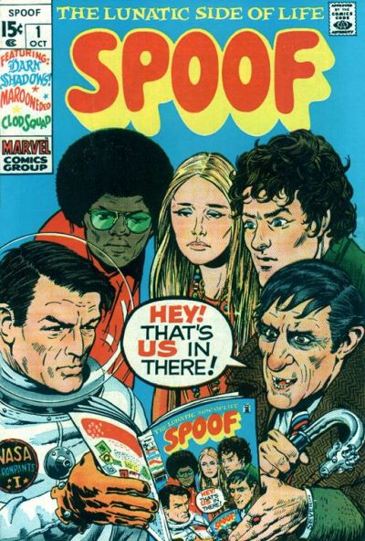 Cover for Spoof (Marvel, 1970 series) #1