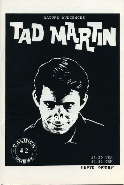 Cover for Tad Martin [The Adventures of Tad Martin] (Caliber Press, 1991 series) #2