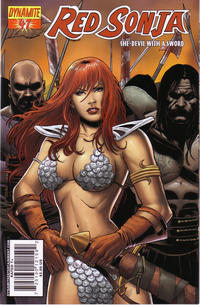 Cover for Red Sonja (Dynamite Entertainment, 2005 series) #47 [Cover A]