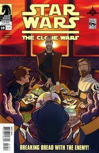 Cover Thumbnail for Star Wars The Clone Wars (Dark Horse, 2008 series) #10