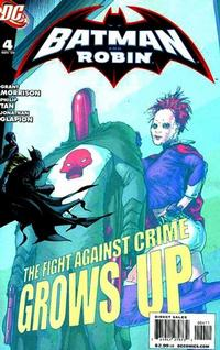 Cover Thumbnail for Batman and Robin (DC, 2009 series) #4