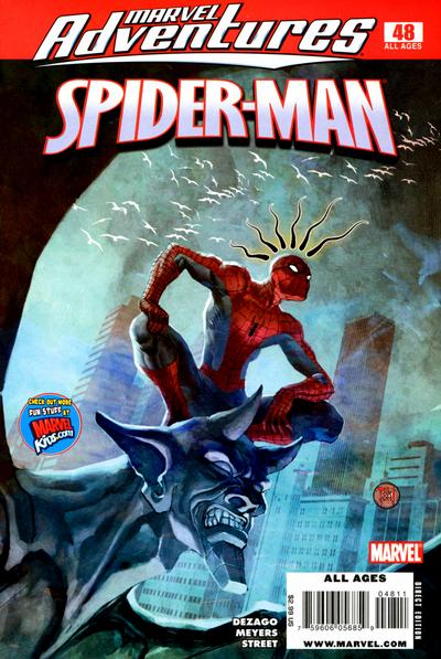 Cover for Marvel Adventures Spider-Man (Marvel, 2005 series) #48