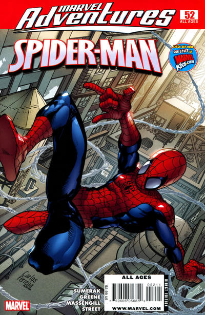 Cover for Marvel Adventures Spider-Man (Marvel, 2005 series) #52