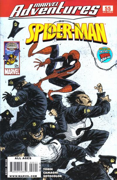 Cover for Marvel Adventures Spider-Man (Marvel, 2005 series) #55