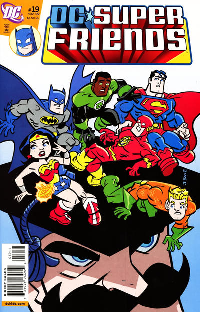 Cover for Super Friends (DC, 2008 series) #19
