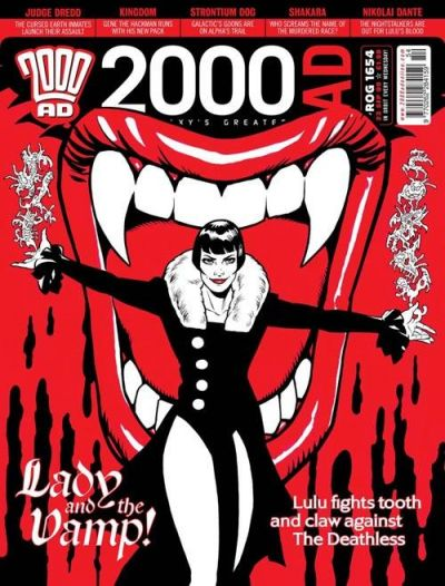 Cover for 2000 AD (Rebellion, 2001 series) #1654