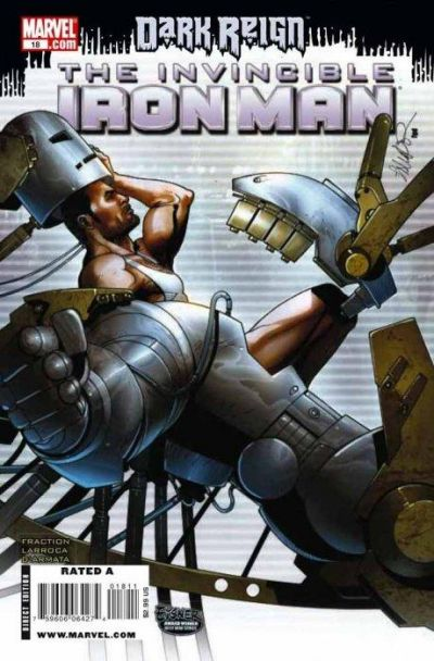 Cover for Invincible Iron Man (2008 series) #18