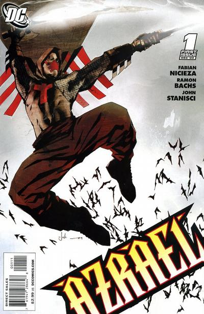 Cover for Azrael (DC, 2009 series) #1 [Frazer Irving Variant Cover]