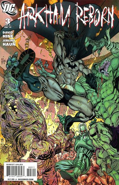 Cover for Arkham Reborn (DC, 2009 series) #3