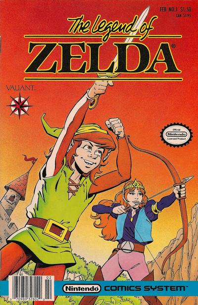 Cover for The Legend of Zelda (Acclaim / Valiant, 1990 series) #1 [First Printing]