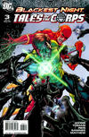 Cover Thumbnail for Blackest Night: Tales of the Corps (2009 series) #3 [Variant Cover]