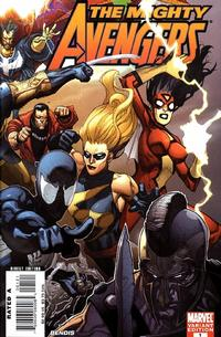 Cover for The Mighty Avengers (Marvel, 2007 series) #1