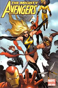 Cover Thumbnail for The Mighty Avengers (Marvel, 2007 series) #1 [Second Print Variant]