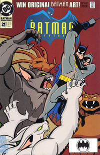 Cover Thumbnail for The Batman Adventures (DC, 1992 series) #21