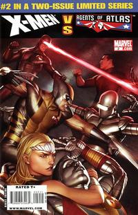 Cover Thumbnail for X-Men vs. Agents of Atlas (Marvel, 2009 series) #2