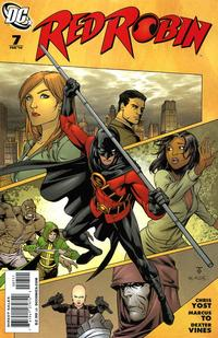 Cover Thumbnail for Red Robin (DC, 2009 series) #7