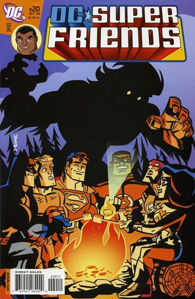Cover for Super Friends (DC, 2008 series) #20