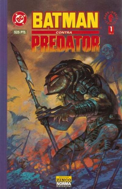 Cover for Batman vs. Predator (Zinco, 1992 series) #1