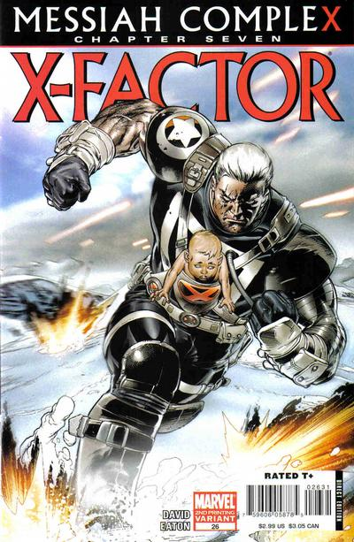 Cover for X-Factor (Marvel, 2006 series) #26 [Direct Edition]
