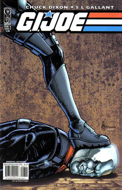 Cover for G.I. Joe (2008 series) #8 [Cover B]