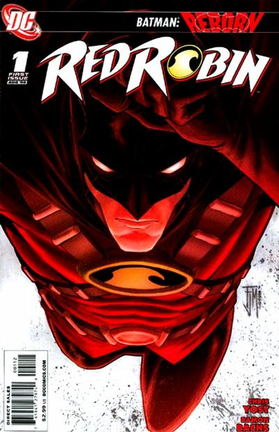 Cover for Red Robin (DC, 2009 series) #1 [Direct-Sales Variant]