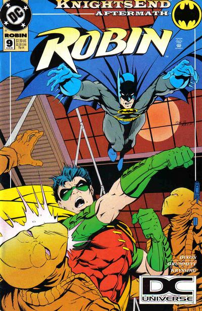 Cover for Robin (DC, 1993 series) #9 [Direct Sales]