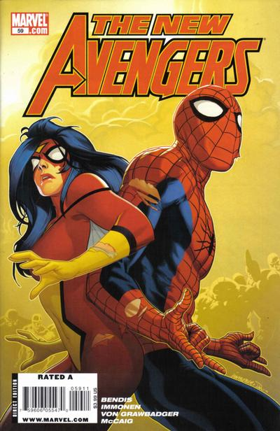 Cover for New Avengers (Marvel, 2005 series) #59