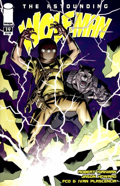 Cover for The Astounding Wolf-Man (2007 series) #19