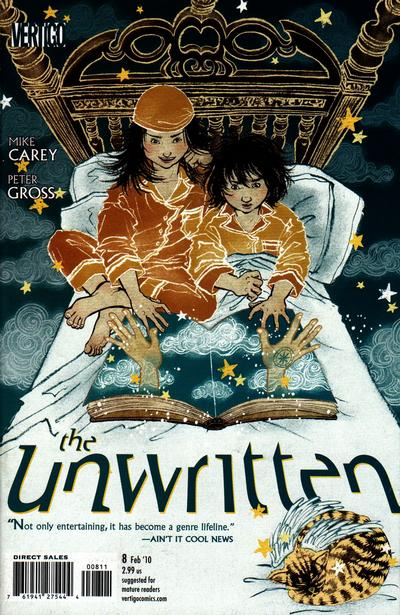 Cover for The Unwritten (2009 series) #8