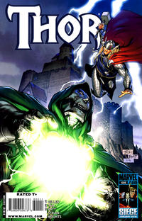 Cover for Thor (2007 series) #605