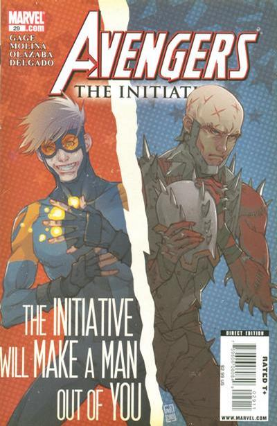Cover for Avengers: The Initiative (2007 series) #29 [Standard Cover]