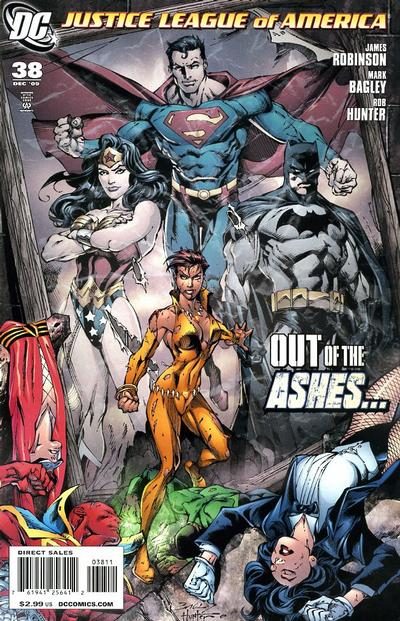 Cover for Justice League of America (DC, 2006 series) #38 [Andy Kubert Variant Cover]