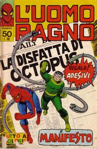 Cover Thumbnail for L' Uomo Ragno [Collana Super-Eroi] (Editoriale Corno, 1970 series) #50