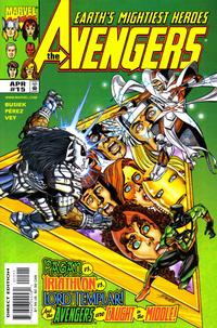 Cover Thumbnail for Avengers (Marvel, 1998 series) #15