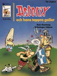 Cover Thumbnail for Asterix (Ny utgåva) (Hemmets Journal, 1979 series) #1 - Asterix och hans tappra galler