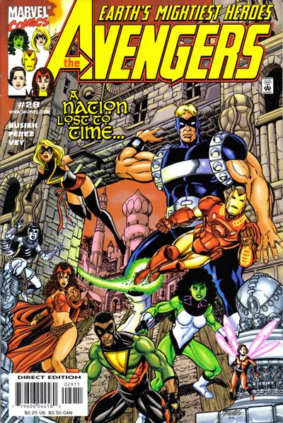 Cover for Avengers (1998 series) #29