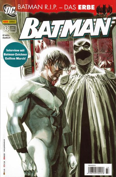 Cover for Batman (2007 series) #33