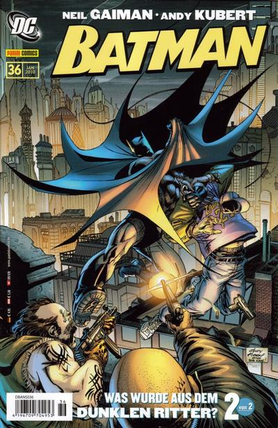 Cover for Batman (2007 series) #36